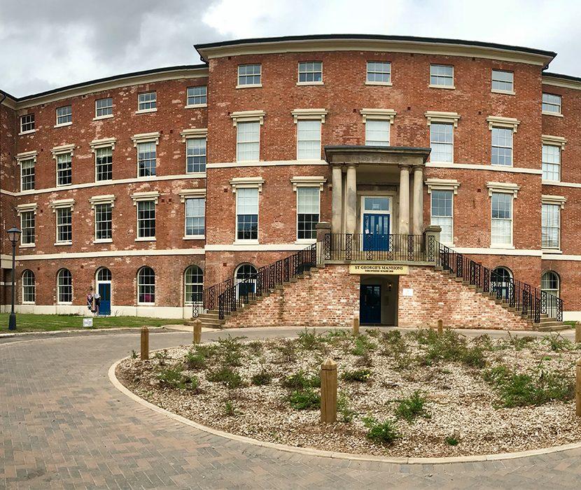 Saint George's Mansions, Stafford
