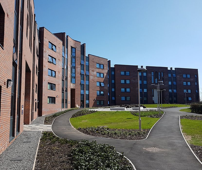 Keele Univeristy Student Accomidation