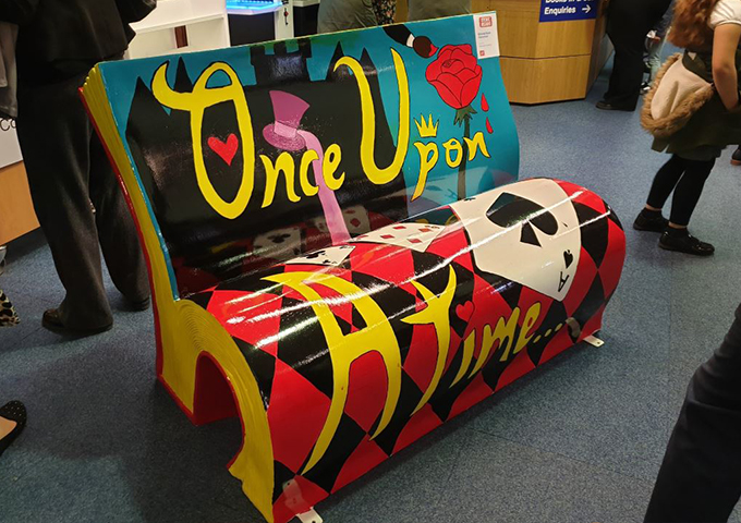Stoke Reads BookBench Sponsor