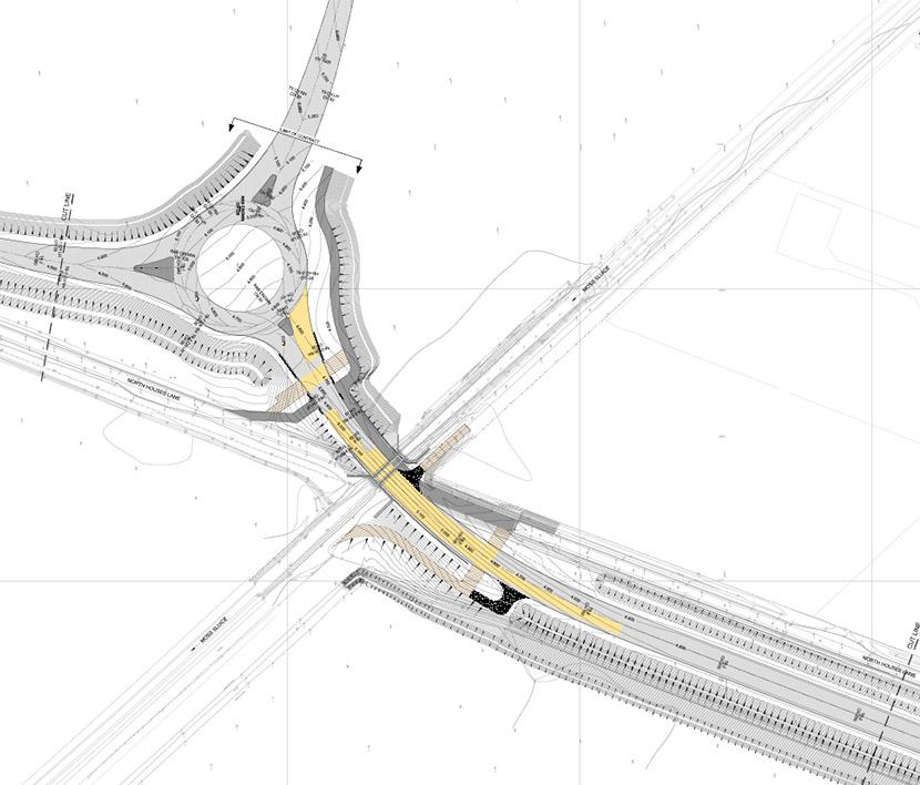 m55 link road