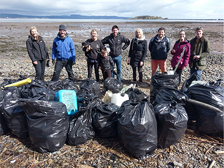 Edinburgh Office Beach Clean