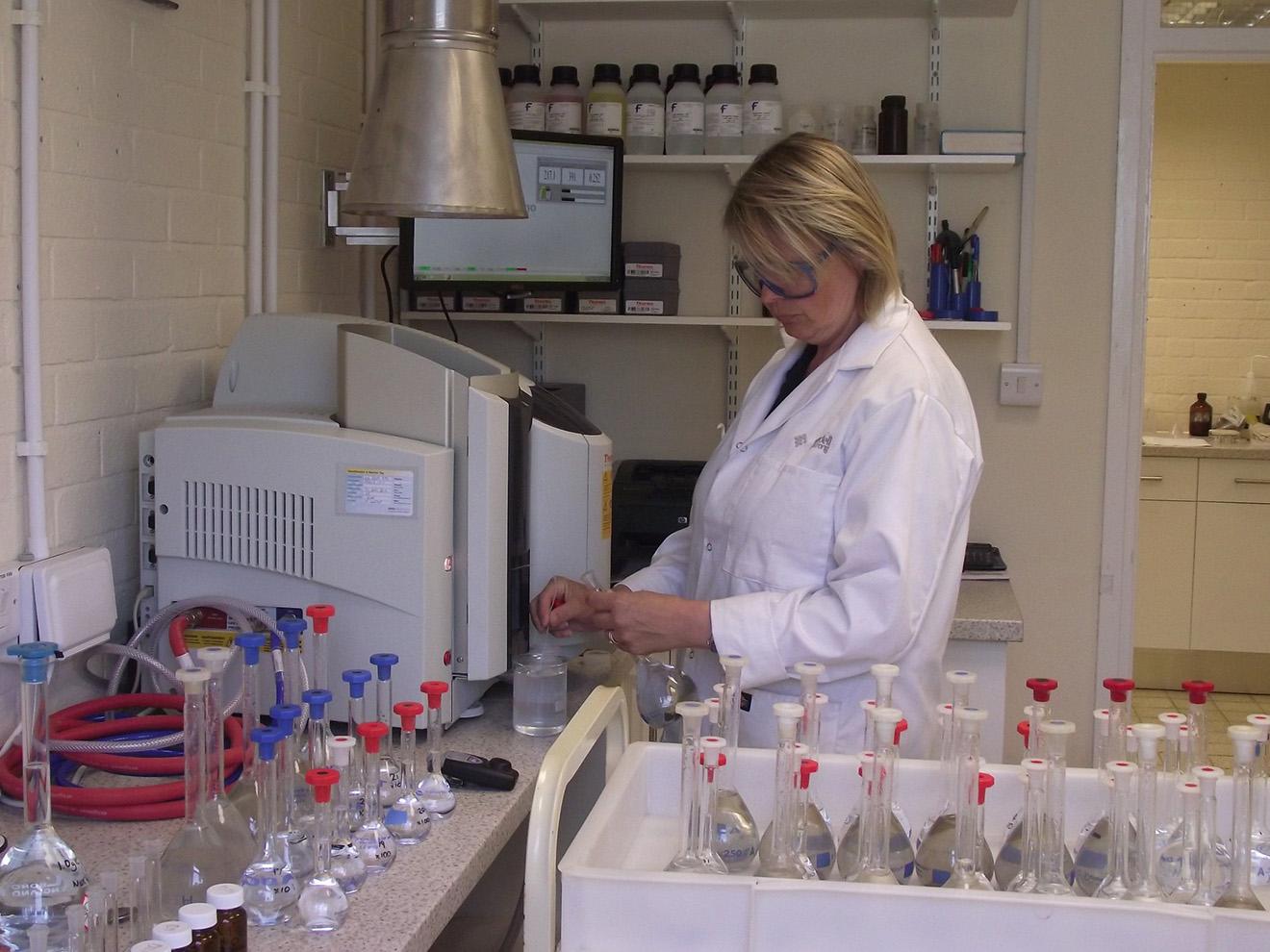 Truro Mineral Processing Lab